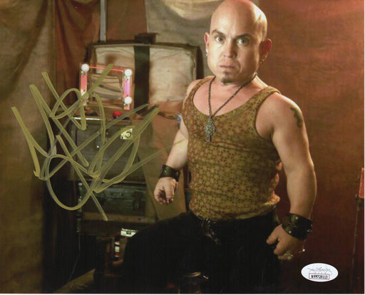Martin Klebba Autograph 8x10 Photo Pirates of the Caribbean Marty Signed JSA COA 3
