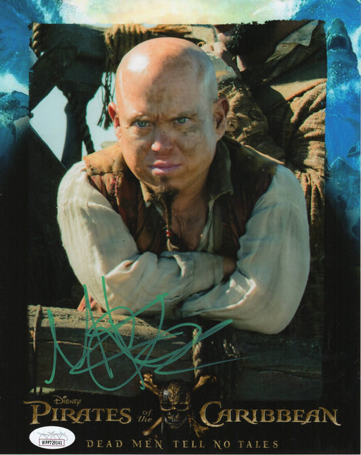 Martin Klebba Autograph 8x10 Photo Pirates of the Caribbean Marty Signed JSA COA 16
