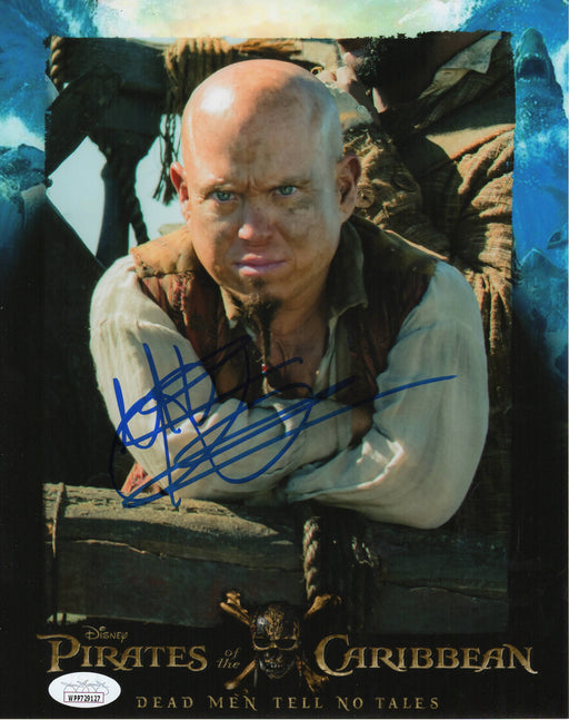 Martin Klebba Autograph 8x10 Photo Pirates of the Caribbean Marty Signed JSA COA 17