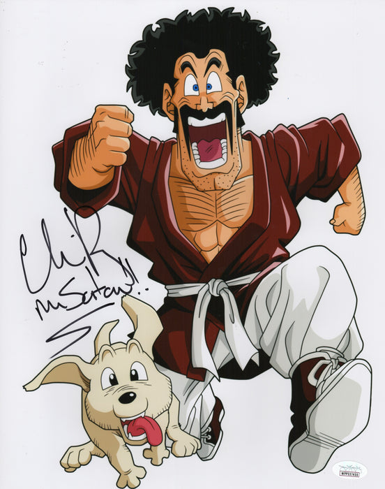 Chris Rager Autograph 11x14 Photo Dragon Ball Z Mr. Satan Signed JSA COA Z2