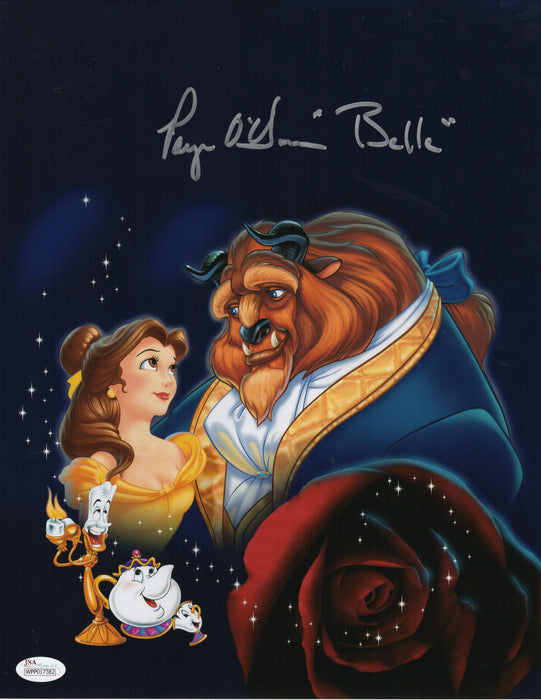 Paige O'Hara Signed 11x14 Photo Autograph Beauty & the Beast JSA COA Z11
