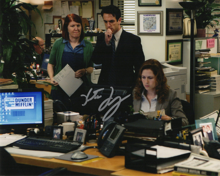 Kate Flannery Signed 8x10 Photo The Office Meredith Autograph Picture COA 2