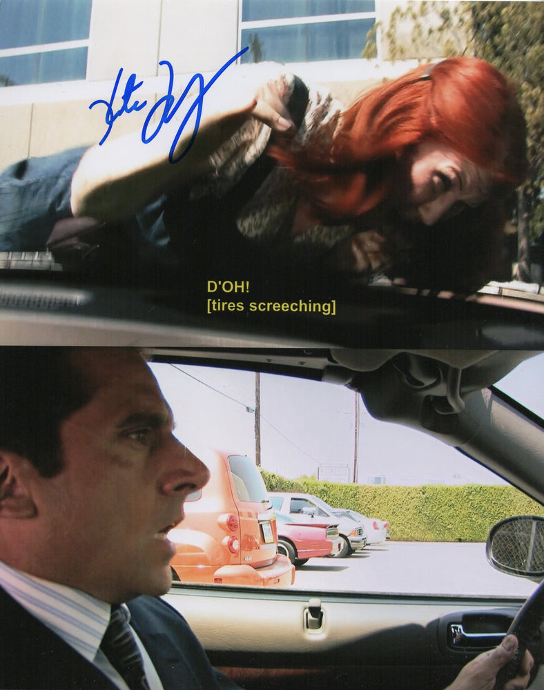 Kate Flannery Signed 8x10 Photo The Office Meredith Autograph Picture COA 7