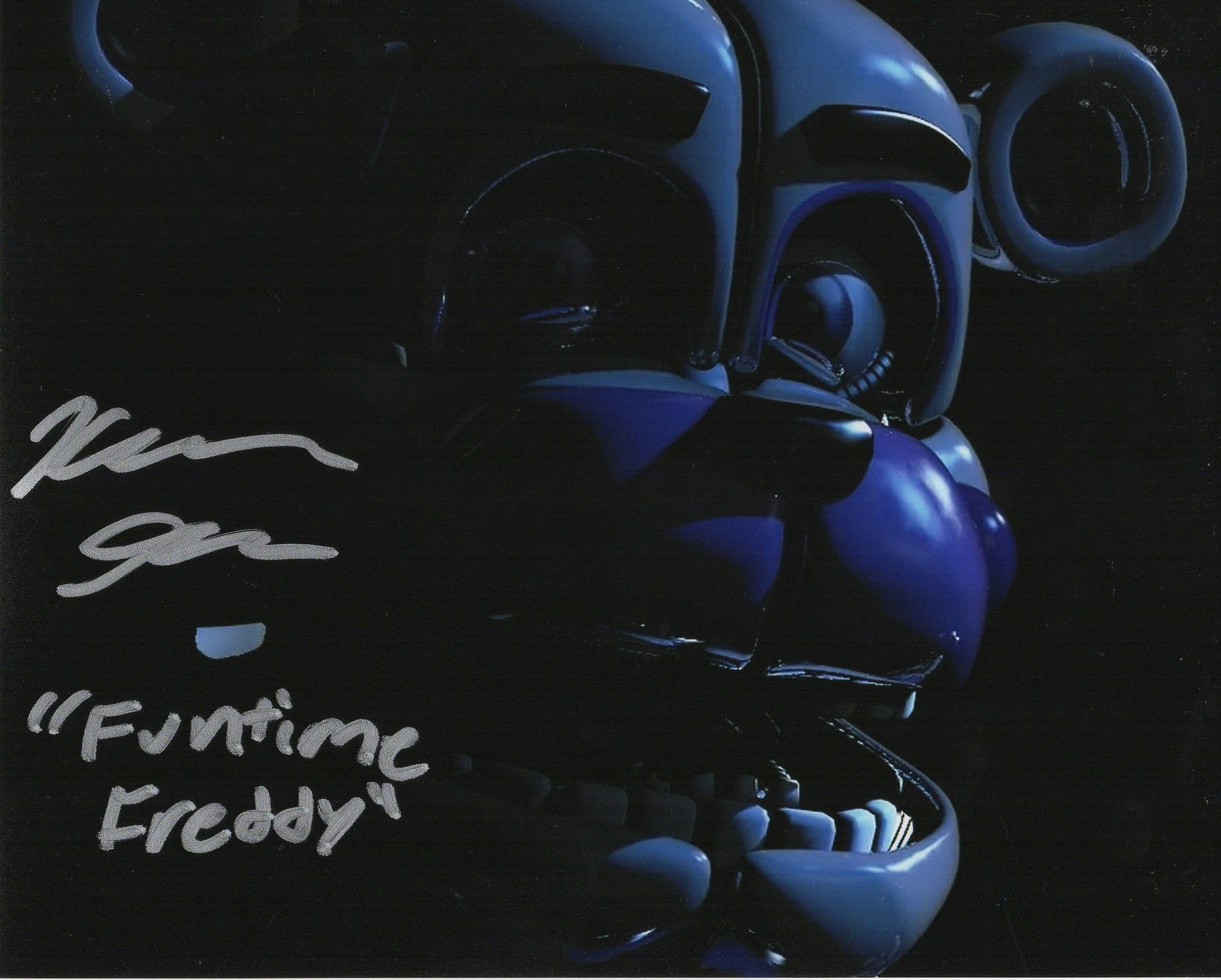 Kellen Goff Signed 8x10 Photo Five Nights at Funtime Freddy's COA H4