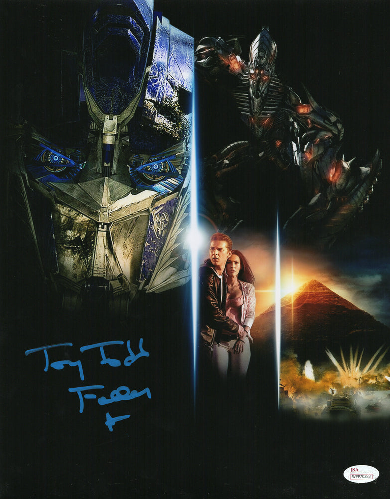 Tony Todd Signed 11x14 Photo Autograph Transformers Fallon JSA COA TT6