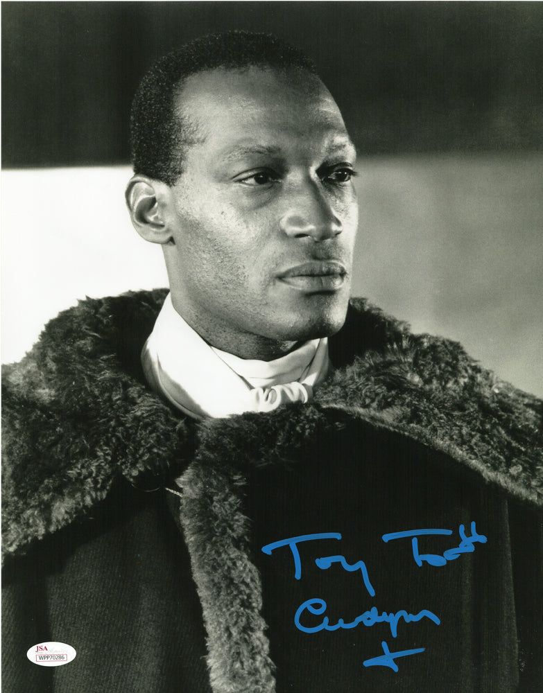 Tony Todd Signed 11x14 Photo Autograph Candyman JSA COA V9