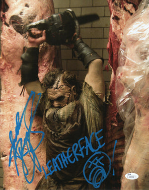 Andrew Bryniarski Signed 11x14 Photo Autograph Leatherface JSA COA V14