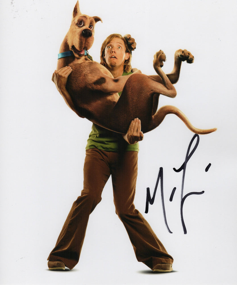 Matthew Lillard Signed 8x10 Photo Autograph Scooby Doo COA H15