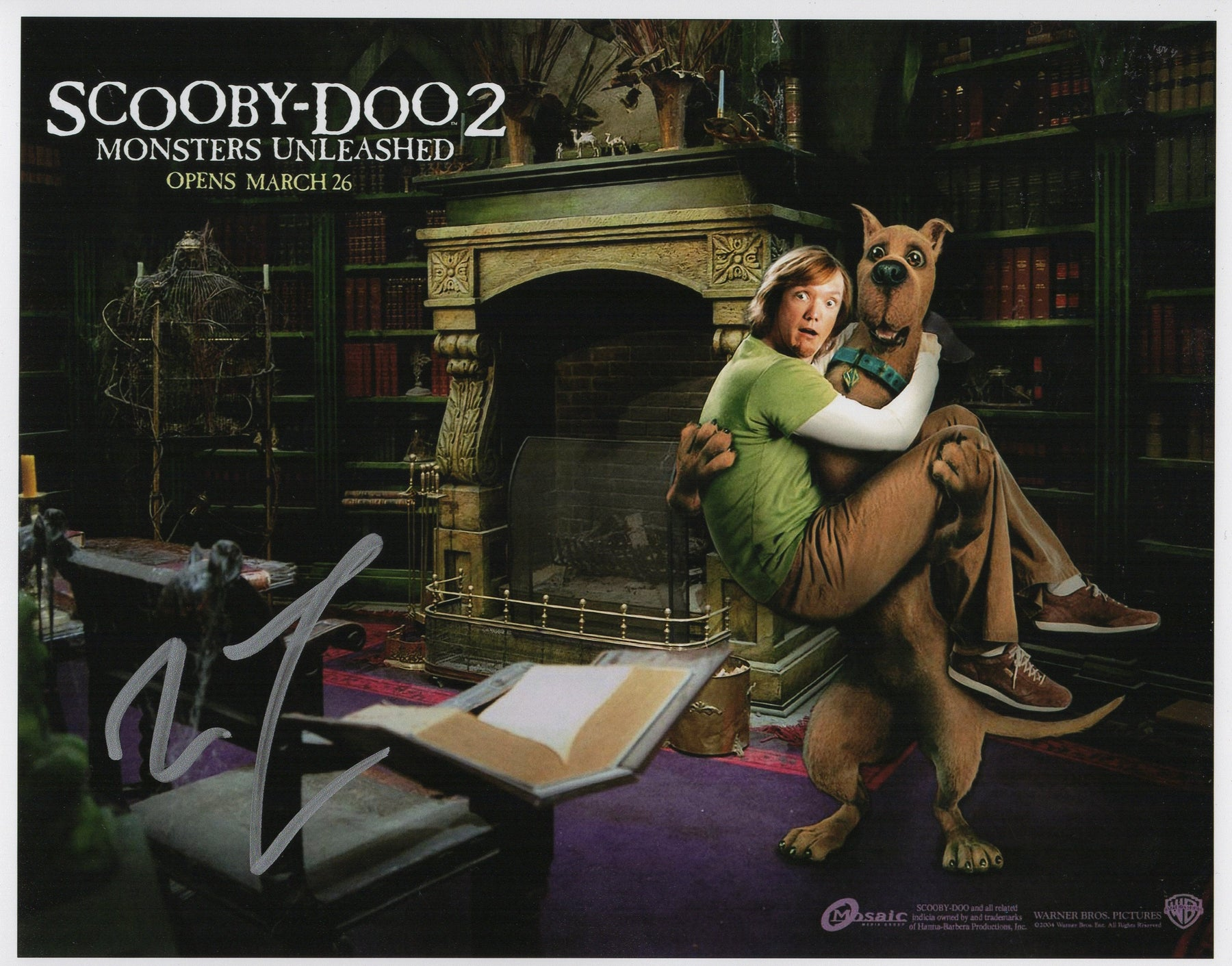 Matthew Lillard Signed 8x10 Photo Autograph Scooby Doo COA