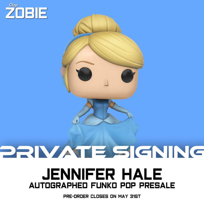Disney Cinderella Pop! Presale Autographed by Jennifer Hale