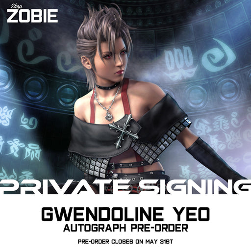 Gwendoline Yeo Signing Autograph Pre-Order