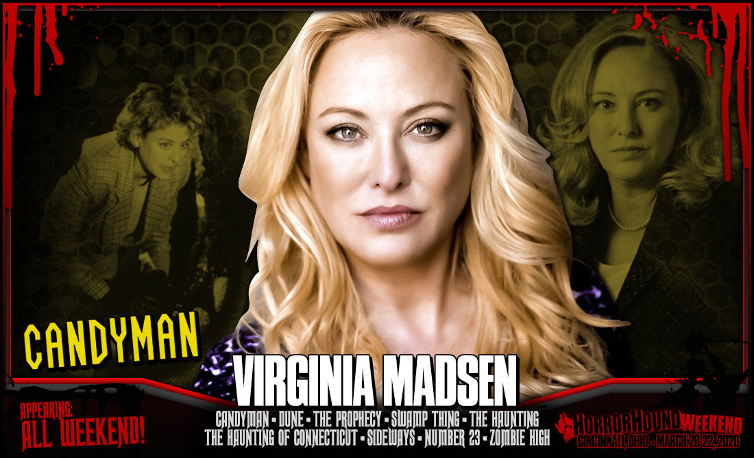 Virginia Madsen Official HorrorHound Comic Con Signing Autograph Pre-Order