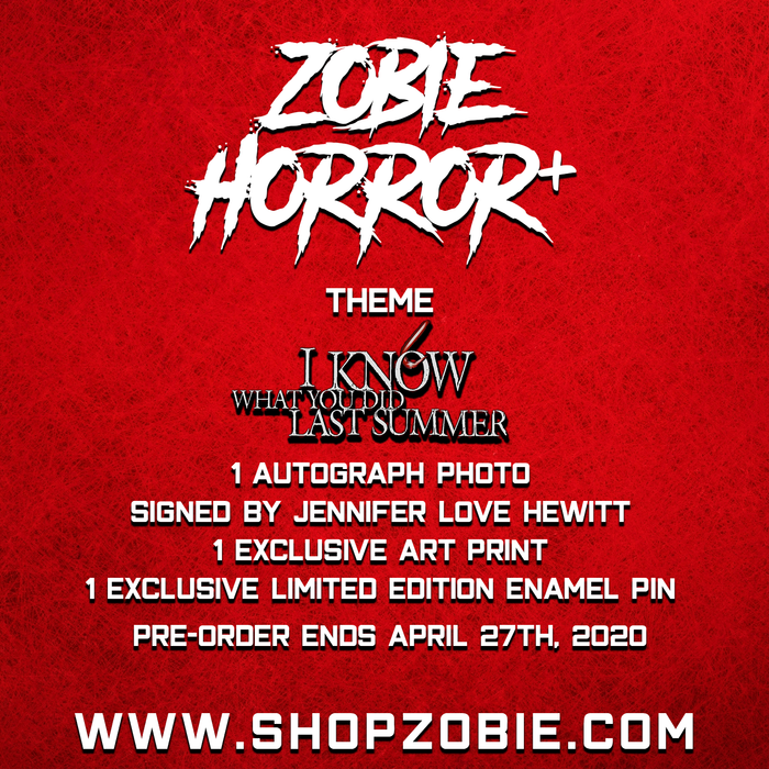 Zobie Horror+ Mystery Box - I Know What You Did Last Summer