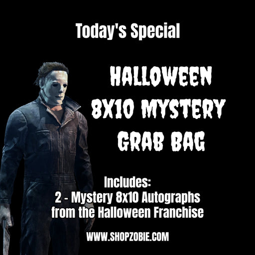 SPECIAL Halloween Mystery 8x10 Autograph Grab Bag