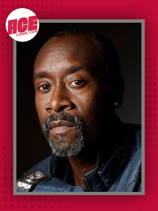 Don Cheadle Official ACE Comic Con Signing Autograph Pre-Order