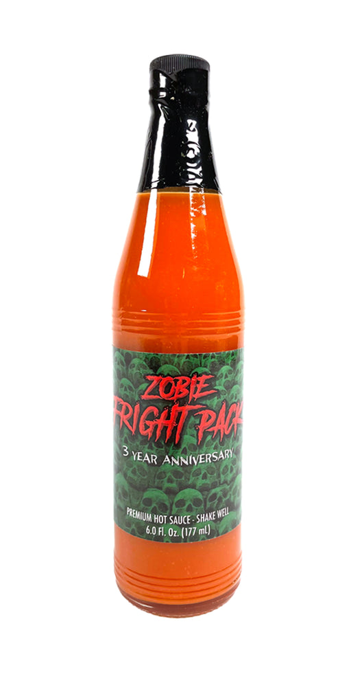 Zobie Fright Pack Exclusive 3 Year Anniversary Hot Sauce
