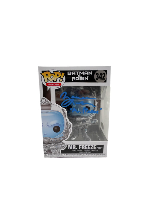 Maurice LaMarche Autograph Funko POP Mr. Freeze Signed JSA COA