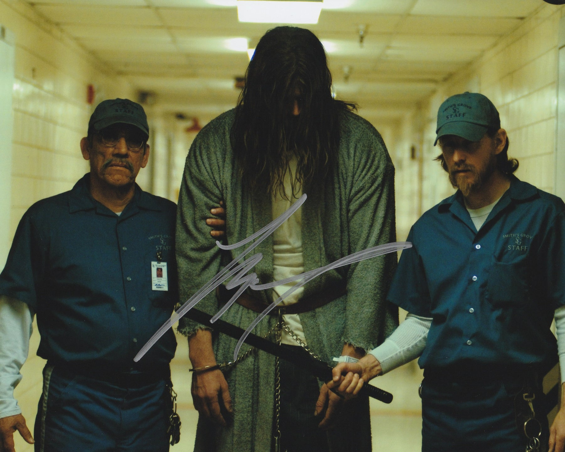 Tyler Mane Autograph 8x10 Photo Halloween Signed COA 4