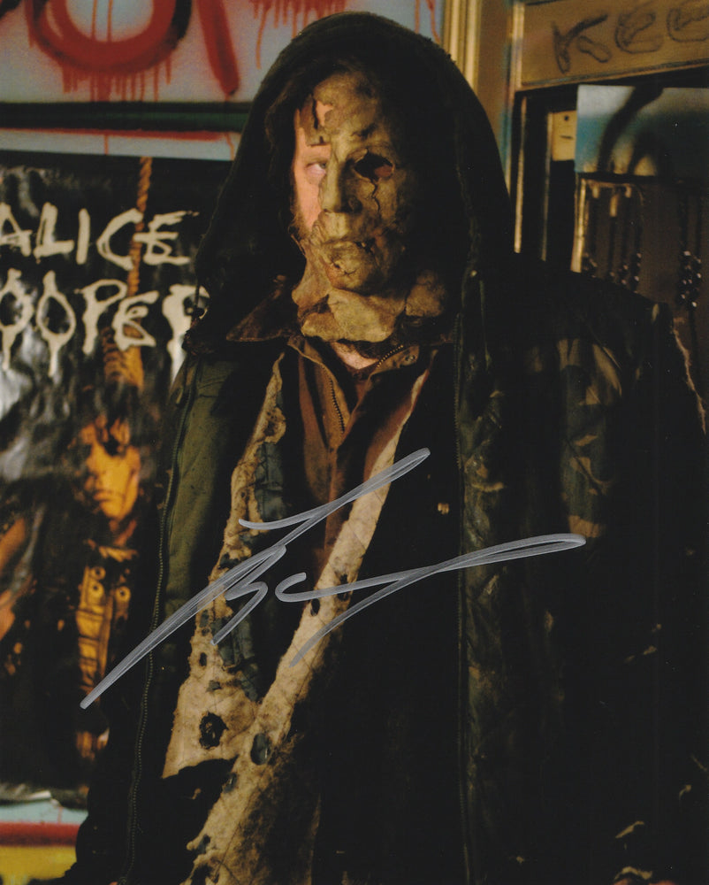 Tyler Mane Autograph 8x10 Photo Halloween Signed COA 6