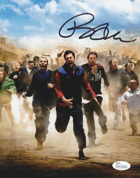 Bam Margera Autograph 8x10 Jackass Signed Photo JSA COA 2