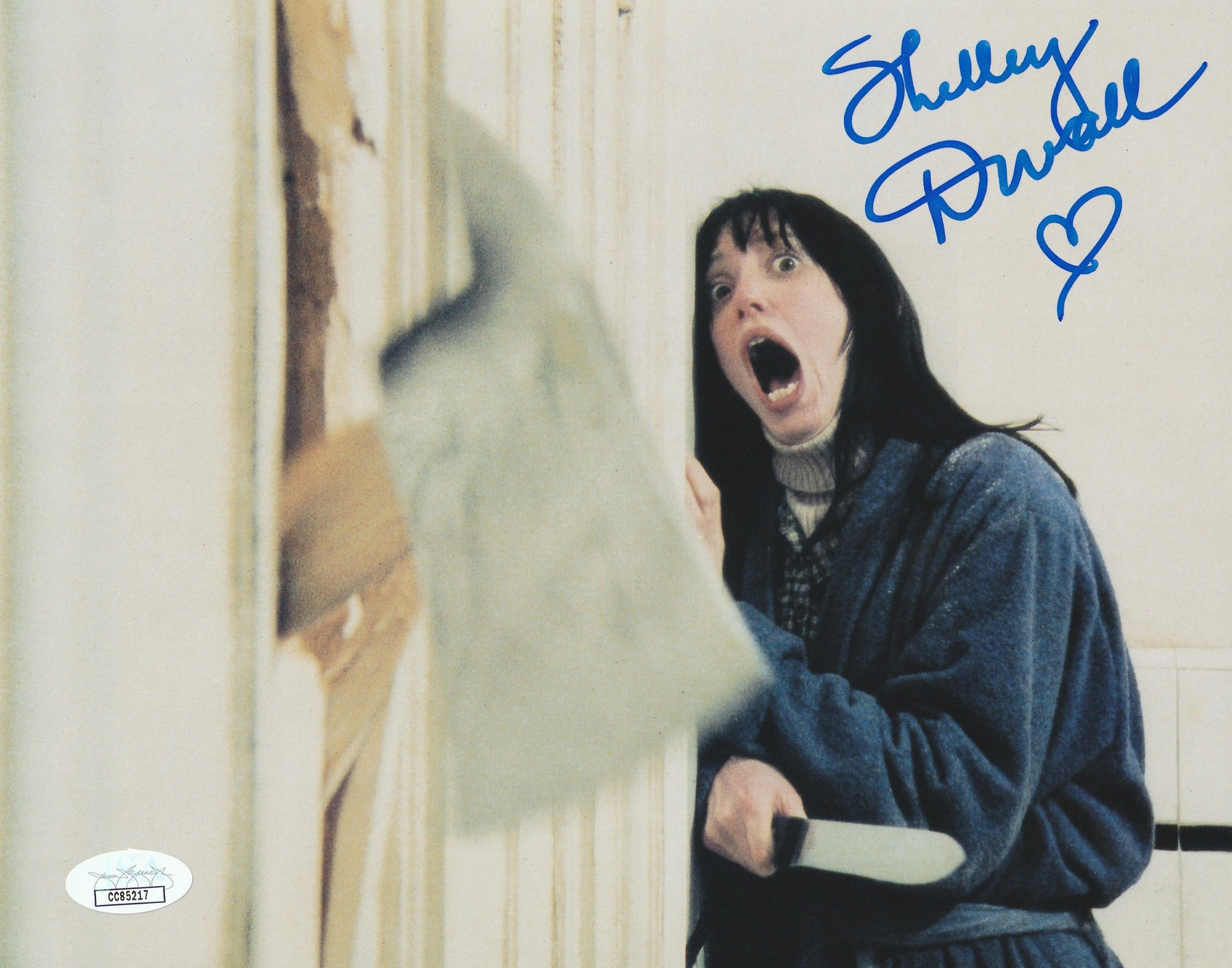 Shelley Duvall Autograph 8x10 The Shining Photo Wendy Signed JSA COA
