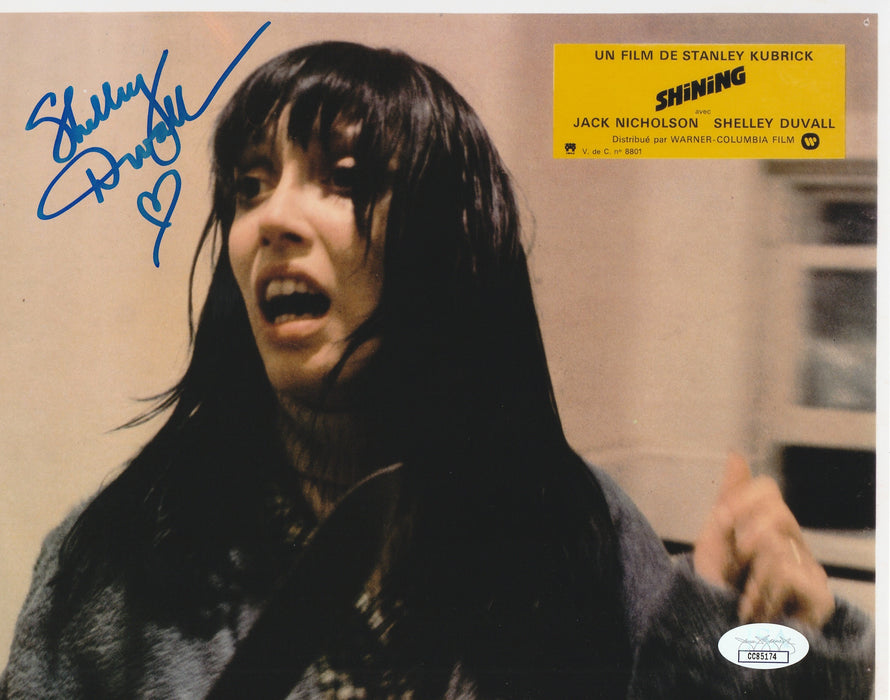 Shelley Duvall Autograph 8x10 The Shining Photo Wendy Signed JSA COA 6
