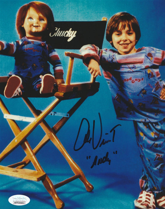 Alex Vincent Autograph Child's Play 8x10 Photo Signed Andy JSA COA