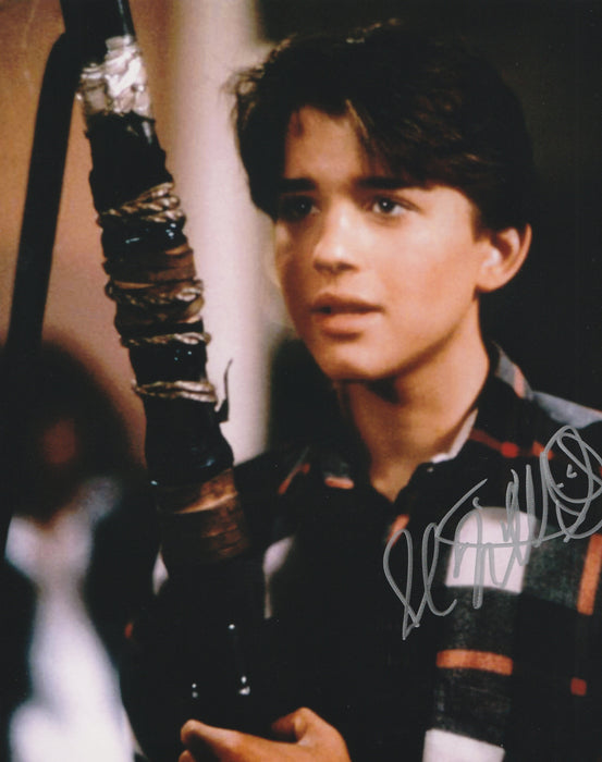 Ilan Mitchell-Smith Autograph 8X10 Photo Weird Science Wyatt Signed Zobie COA I2