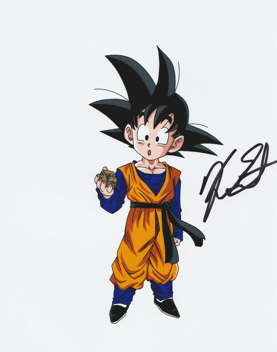 Kara Edwards Autograph Goten 8x10 Photo Dragon Ball Z Signed Zobie COA K2