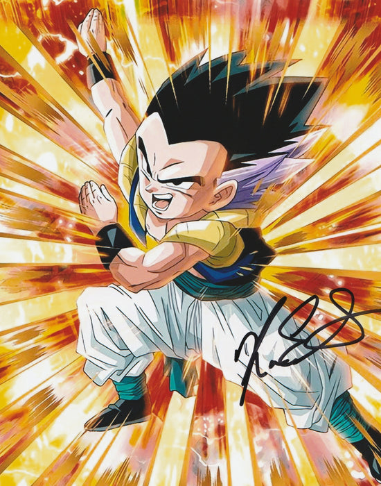 Kara Edwards Autograph GOTENKS 8x10 Photo Dragon Ball Z Signed Zobie COA K3