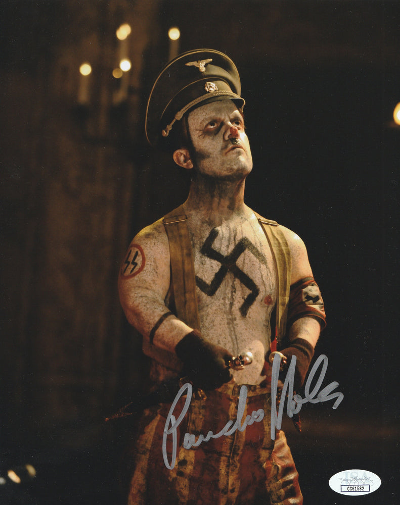 Pancho Moler Autograph 31 8x10 Photo Sick Head Signed Picture JSA COA PM3