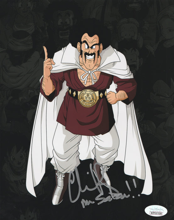 Chris Rager Autograph 8x10 Photo Dragon Ball Z Mr Satan Signed JSA COA CR3