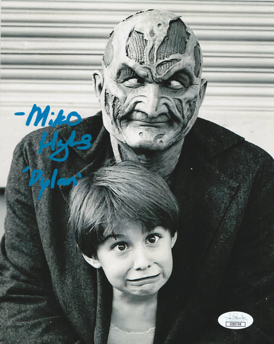 Miko Hughes 8x10 Wes Craven's New Nightmare Photo Signed Gage JSA COA