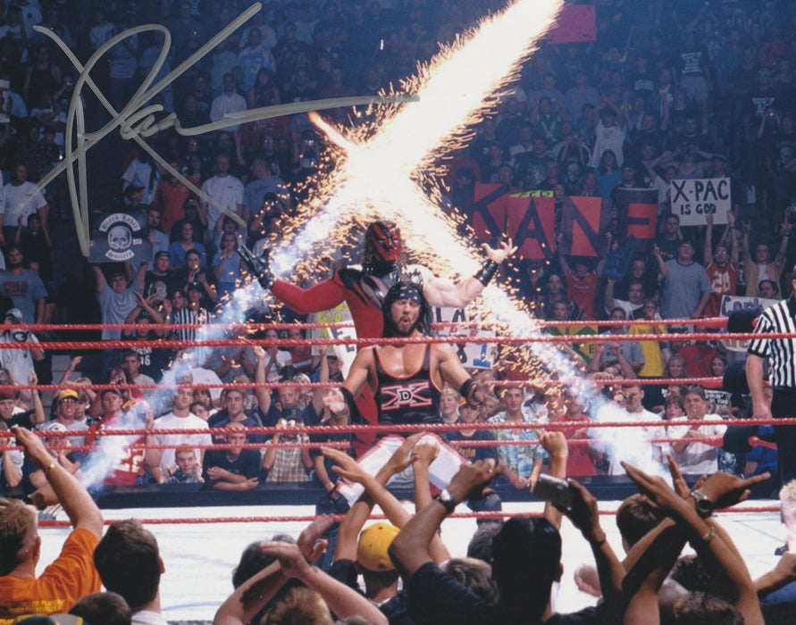 X Pac Autograph 8x10 Photo WWF WCW DX Signed COA 4