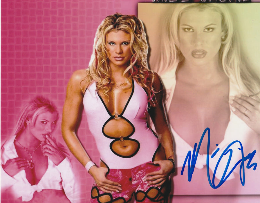 Miss Jackie Autograph 8x10 Photo TNA WWF Signed COA 3