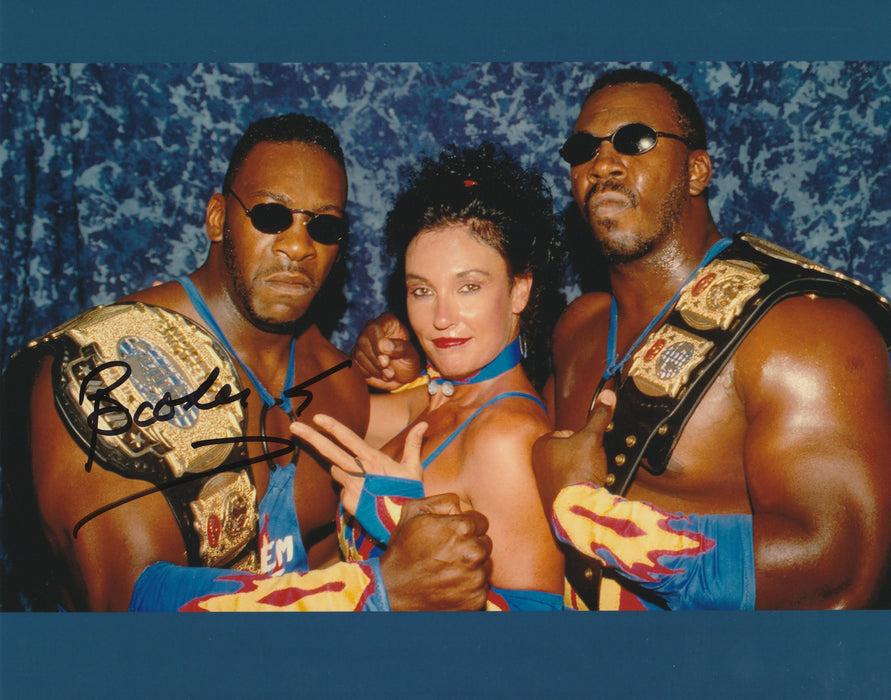 Booker T Autograph 8x10 Photo WWF WWE WCW Signed COA
