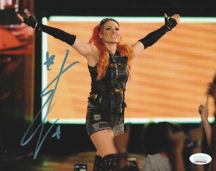 Becky Lynch Autograph WWE Womans Champion 8X10 Photo Signed JSA COA 7