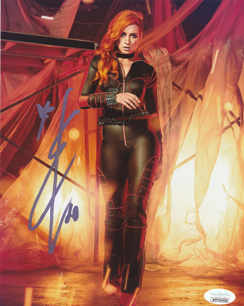 Becky Lynch Autograph WWE Womans Champion 8X10 Photo Signed JSA COA 13