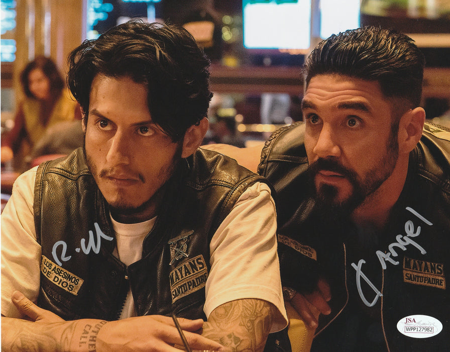 Richard Cabral Clayton Cardenas Autograph 8x10 Photo Mayans MC Signed JSA