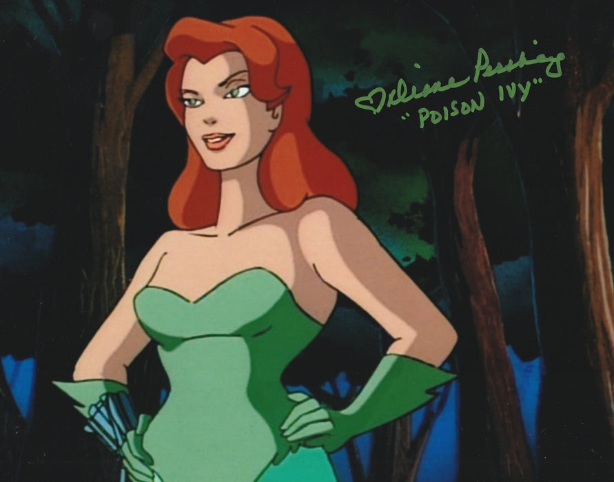 Diane Pershing Autograph 8x10 BTAS Photo Poison Ivy Signed COA 3