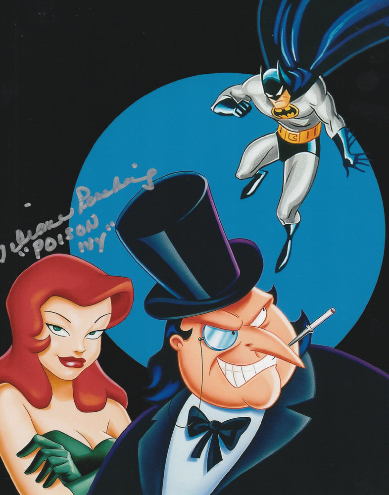 Diane Pershing Autograph 8x10 BTAS Photo Poison Ivy Signed COA 4