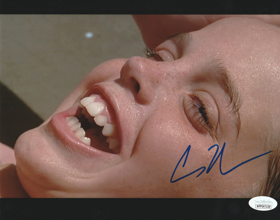 Chauncey Leopardi Autograph 8x10 Photo The Sandlot Squints Signed JSA COA C1