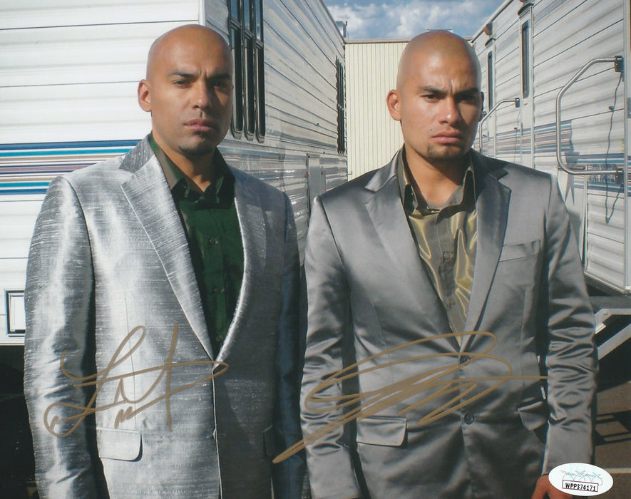 Daniel and Luis Moncada Autograph Breaking Bad 8x10 Photo JSA COA 3