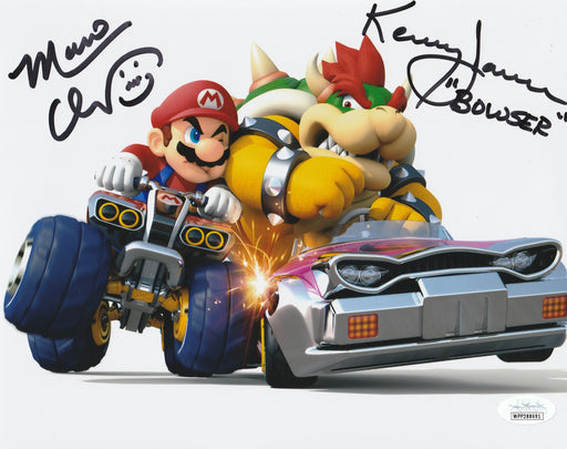Kenny James Charles Martinet Autograph 8x10 Mario Bowser Photo Signed JSA COA