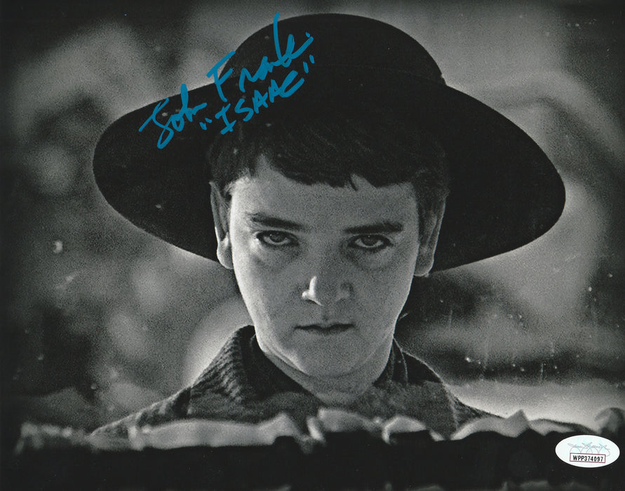 John Franklin Autograph 8x10 Photo Children of the Corn Signed Isaac JSA COA