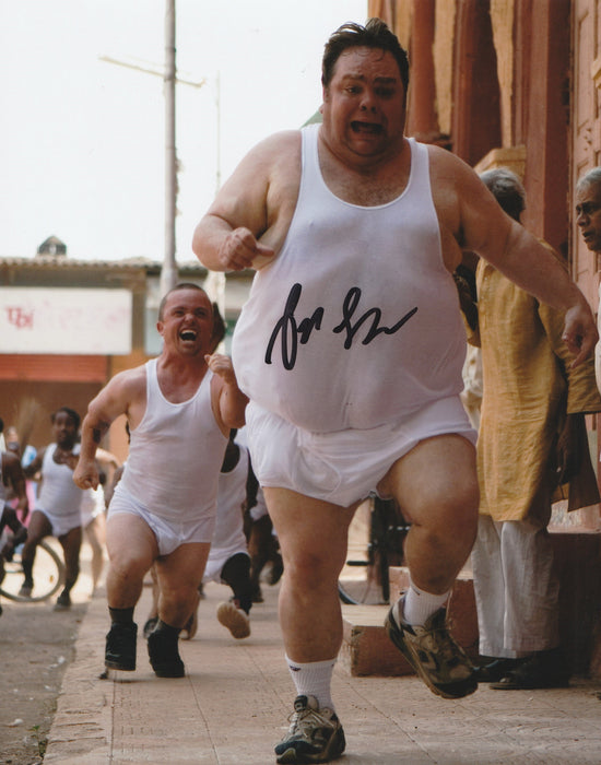 Preston Lacy Autograph 8x10 JACKASS Photo Signed JSA COA