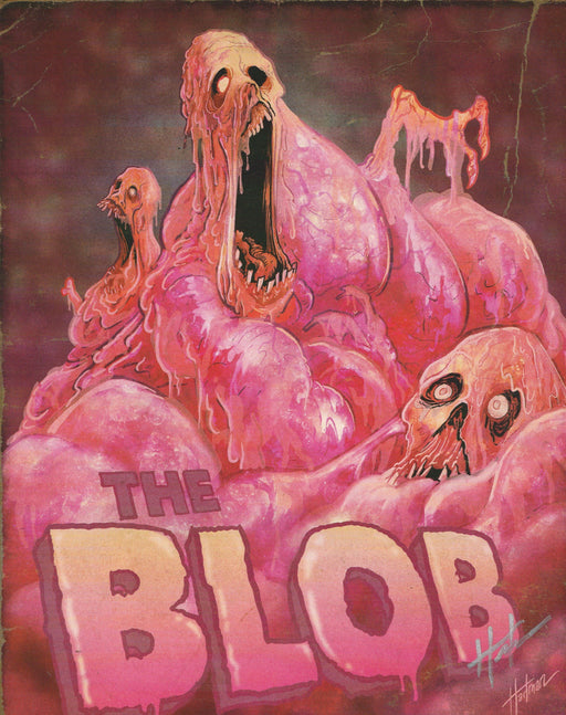 Zobie Fright Pack - Limited Edition 8x10 Art Print - The Blob by David Hartman