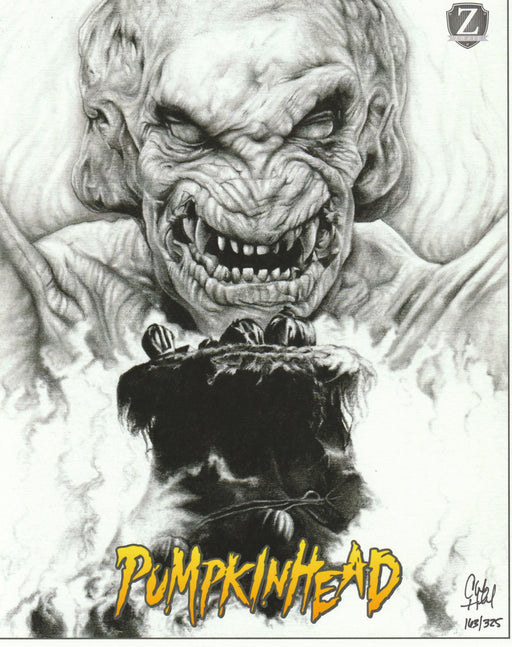 Zobie Fright Pack - Limited Edition 8x10 Art Print - Pumpkinhead by Chadwick Haverland