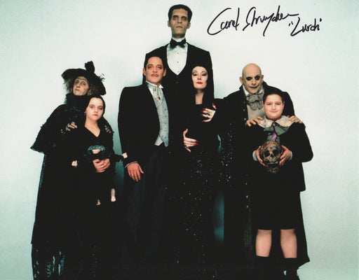 Carel Struycken Autograph The Addams Family Lurch 8x10 Photo Signed COA