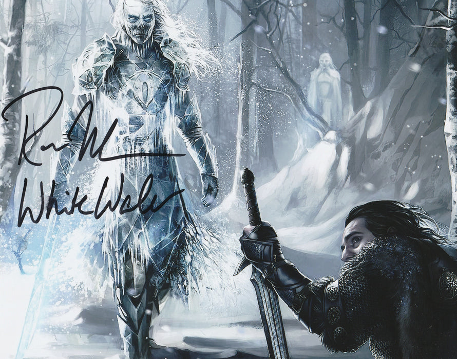 Ross Mullan Autograph 8x10 Photo Game of Thrones White Walker COA 4